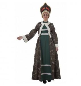 Travestimento Principessa Russa Matrioska donna per divertirsi e fare festa