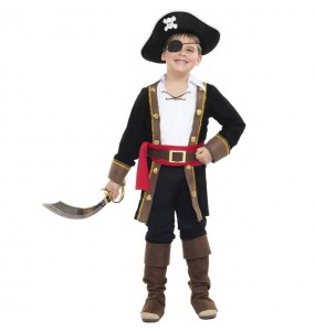 Costume da Re dei pirati per bambino