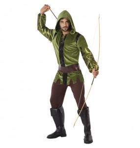 Travestimento Arciere Robin Hood adulti per una serata in maschera