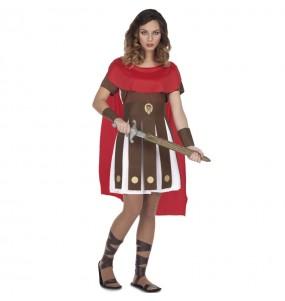Travestimento Romana Spartana donna per divertirsi e fare festa