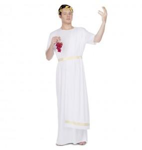 Travestimento Romano bianco adulti per una serata in maschera