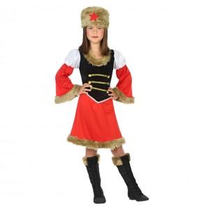 Travestimento Russa Rossa bambina che più li piace