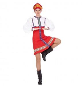 Travestimento Russa Classica donna per divertirsi e fare festa