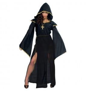 Costume Sacerdotessa oscura donna per una serata ad Halloween