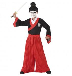 Travestimento Samurai Giapponese bambino che più li piace