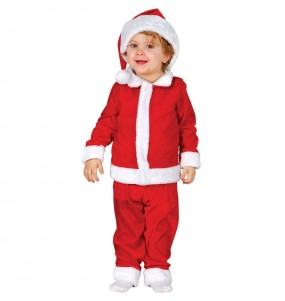 Travestimento Babbo Natale economico neonato che più li piace
