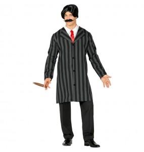Travestimento Gomez Addams adulti per una serata ad Halloween