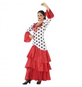 Travestimento Sevillana Giralda donna per divertirsi e fare festa
