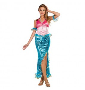 Travestimento Sirena donna per divertirsi e fare festa