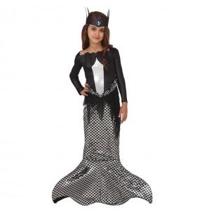 Costume da Sirena zombie per bambina