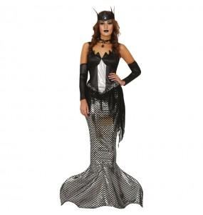 Costume da Sirena Zombie per donna