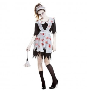 Costume da Domestica zombie per donna