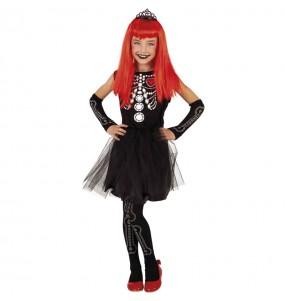 Costume da Scheletrina Tiffany per bambina