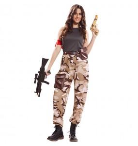 Travestimento Soldato delle Forze Speciali donna per divertirsi e fare festa