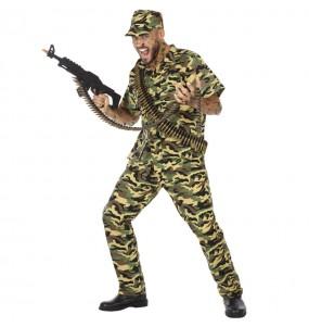 Costume da Soldato militare per uomo