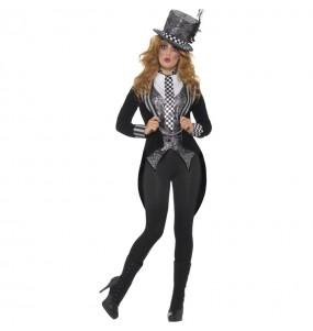 Costume da Cappellaia Matta scura per donna