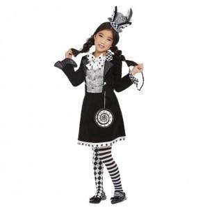 Costume da Cappellaia Matta cattiva per bambina
