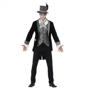 Costume da Cappellaio Matto scuro per uomo