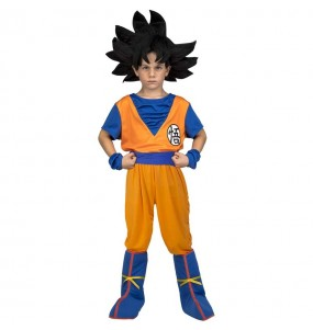 Travestimento Goku Dragon Ball bambino che più li piace