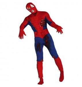 Travestimento Spiderman zombie adulti per una serata ad Halloween