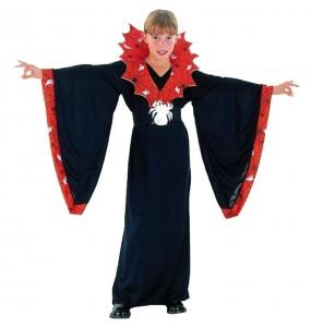 Vestito Spiderella bambine per una festa ad Halloween