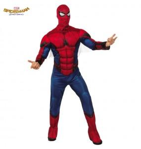 Travestimento Spiderman Homecoming adulti per una serata in maschera