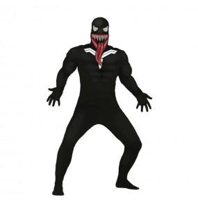 Travestimento Venom adulti per una serata ad Halloween