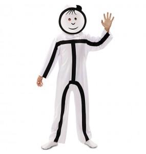 Costume da Stickman per bambino