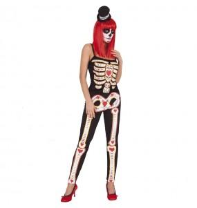 Costume da Sugar Skull per donna