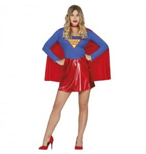 Travestimento Supergirl donna per divertirsi e fare festa