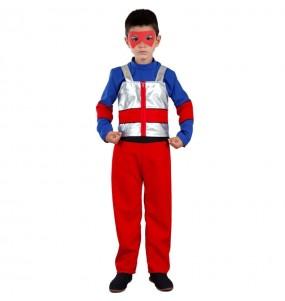 Costume supereroe Henry Danger per bambini
