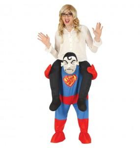 Travestimento adulto Supereroe a cavallucio per una serata in maschera