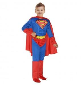 Costume da Superman muscoloso Classic per bambino