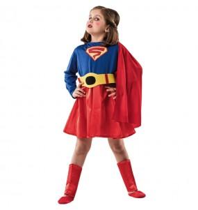 Travestimento Supereroina Classica bambina che più li piace