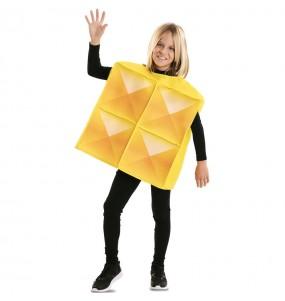 Travestimento Tetris giallo bambino che più li piace