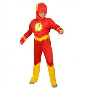 Costume da The Flash muscoloso per bambino