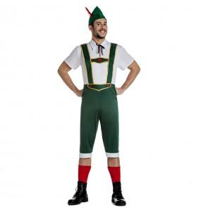 Costume da Tedesco tirolese per uomo