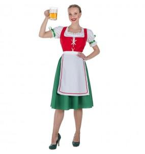 Costume da Tedesca tirolese per donna