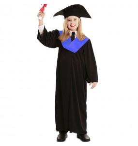 Costume da Toga di laurea per bambina