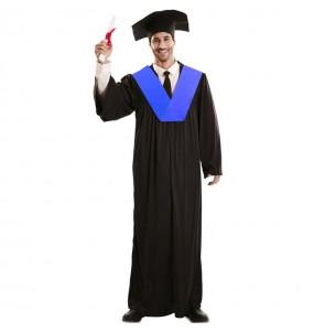 Costume da abito da laurea per uomo