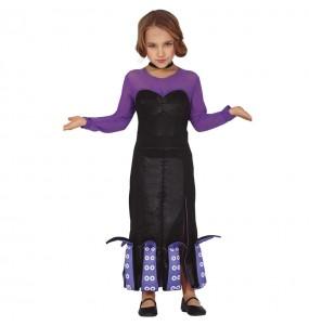 Costume da Ursula La Sirenetta per bambina