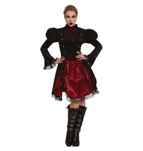 Costume da Vampira Steampunk per donna