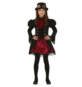 Costume da Vampira Steampunk per bambina