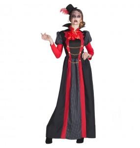 Costume Vampira Vittoriana donna per una serata ad Halloween