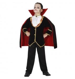 Costume da Vampiro di mezzanotte per bambino