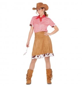 Travestimento Cowgirl Americana donna per divertirsi e fare festa