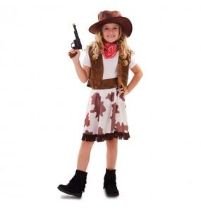 Travestimento Cowgirl Far West bambina che più li piace
