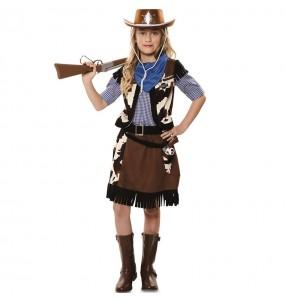 Costume da Cowgirl cannoniera per bambina