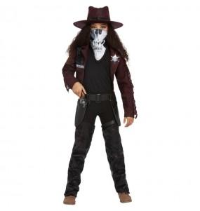Costume da Cowgirl zombie per bambina