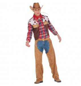 Travestimento Cowboy Americano adulti per una serata in maschera